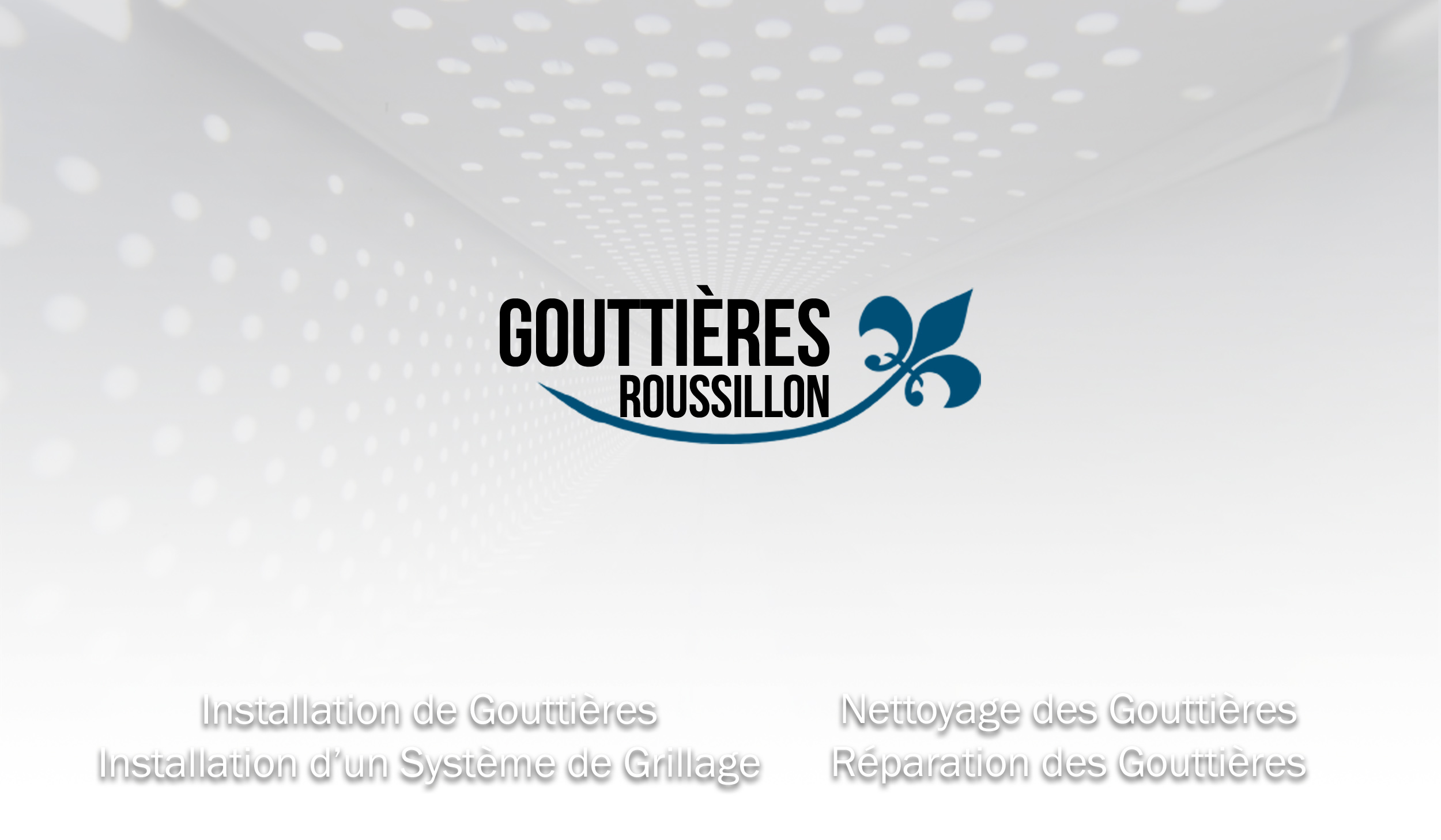 Youtube Channel Art Gouttieres Rive Sud Eavestroughs
