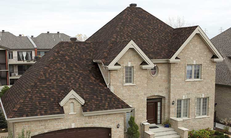 Everest 42 roofing installed on a house