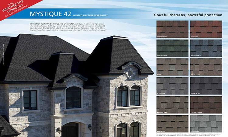 Mystique 42 Roofing Installation